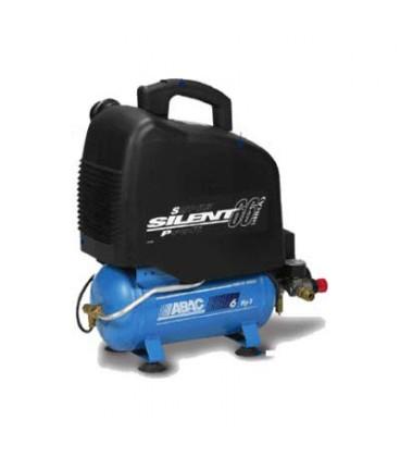 Compressore Silenziato VENTO SILENT OM200 - 6Lt - 0,7Kw - 1Hp 230/1/50 ABAC