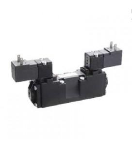 Micro Elettrovalvola 5/2 Bistabile per Montaggio su Sottobase Serie E Univer