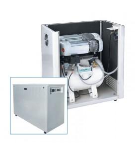 ABAC Compressore uso dentistico con serbatoio ed essiccatore integrato