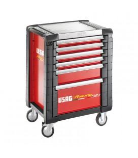 Carrello portautensili 6 cassetti vuoto USAG