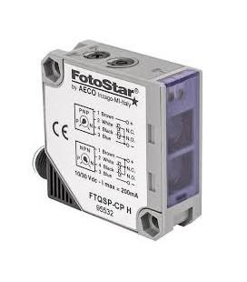 AECO Sensore Fotoelettrico a Riflessione Diretta 10-30Vdc