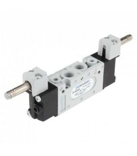 """Elettrovalvola doppio comando elettrico 5/2 1/8"""" 20mm."""