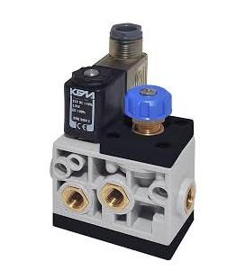 """Dispositivo elettrico alta-bassa pressione 1/8"""" gas N.C."""