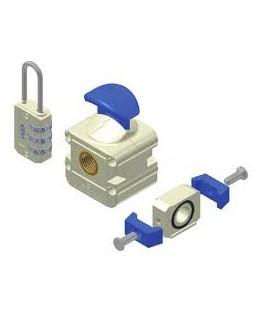 "Valvola d'intercettazione manuale da 1"" gas KPM"