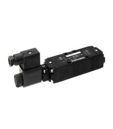 Elettrovalvola ISO1 Serie Leggera 5/2 Mono per Montaggio su Sottobase Serie AE Univer