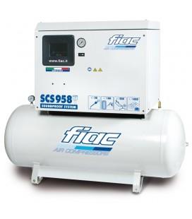 Compressore silenziato c/serbatoio 300Lt. Kw5,5 - Hp7,5 trifase